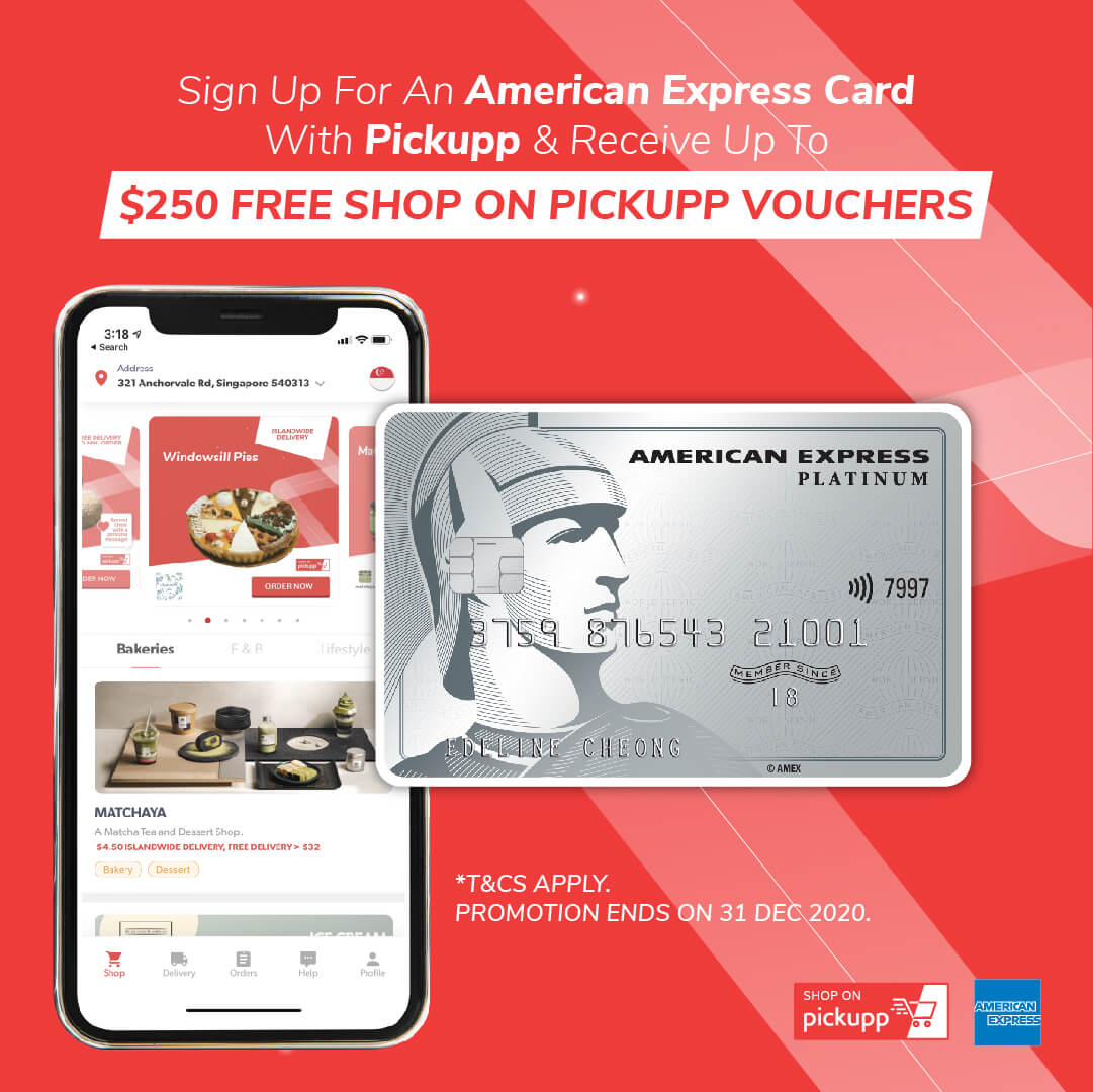 Pickupp and American Express Partnership
