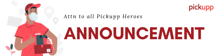 announcement pickupp heroes