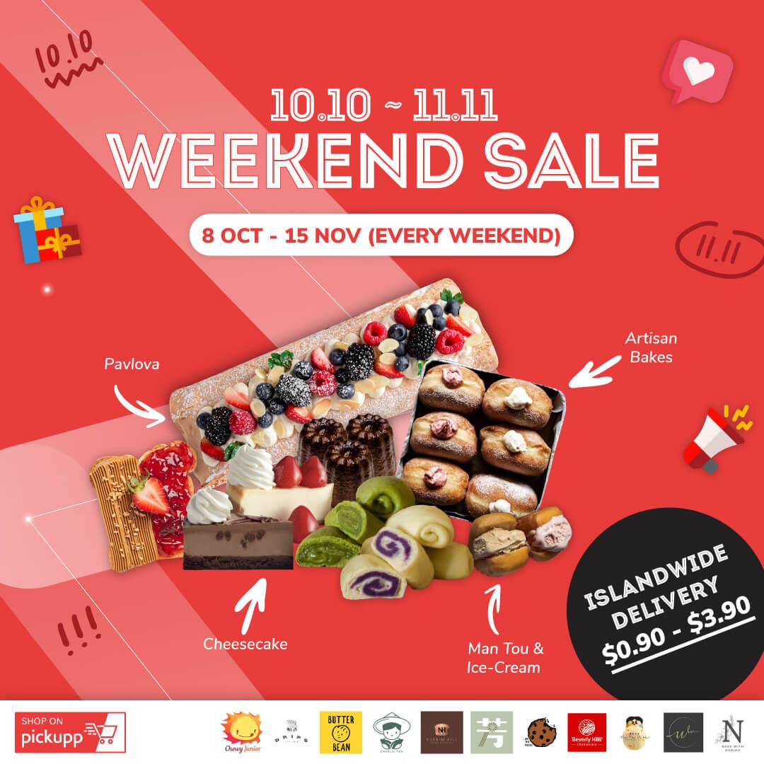 10.10 - 11.11 Weekend Sale