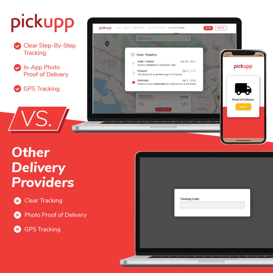 Advanced Parcel Tracking Capability