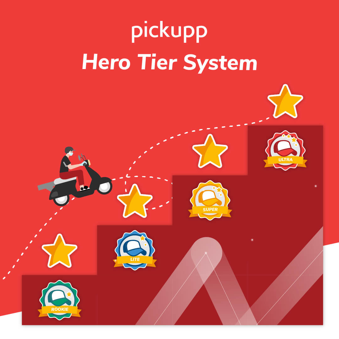 Pickupp Hero Delivery Agent Tier