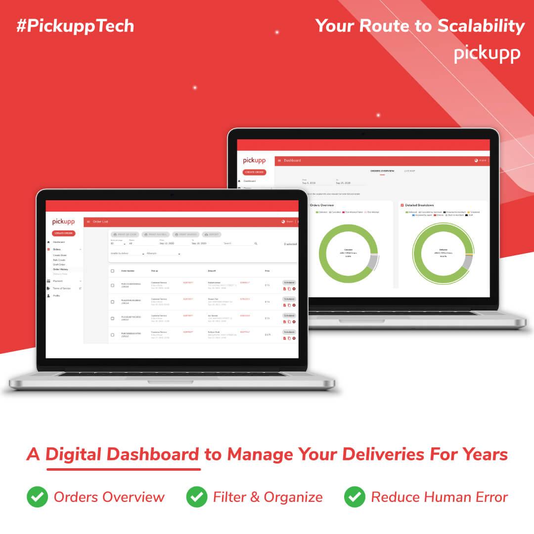 Last Mile Technology: Digital Dashboard
