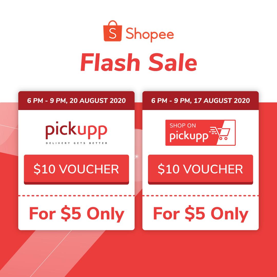 Pickupp On Shopee Flash Sale