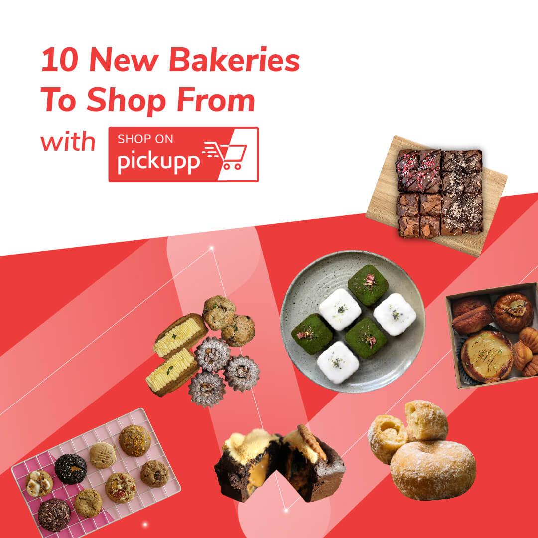 10 New Bakeries to Shop From On Pickupp