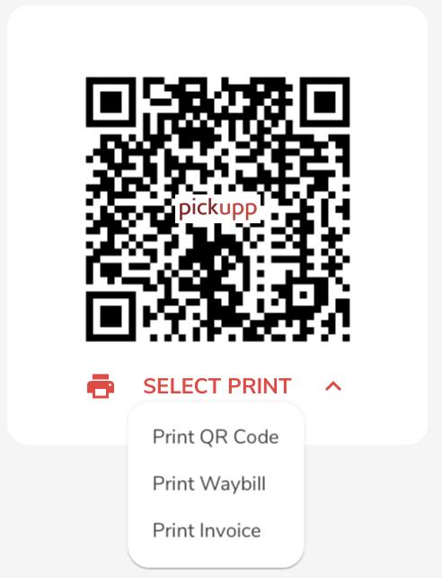 QR Code - Delivery Parcel Identification