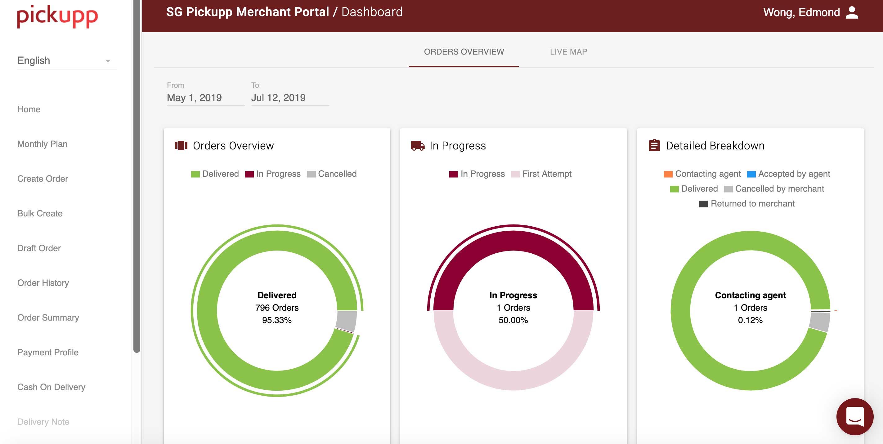 Merchant Portal