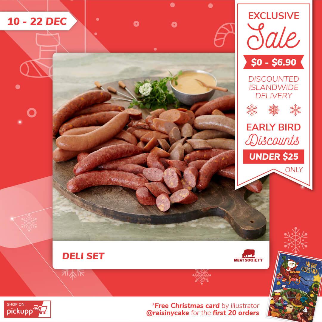 Christmas Ham and Deli