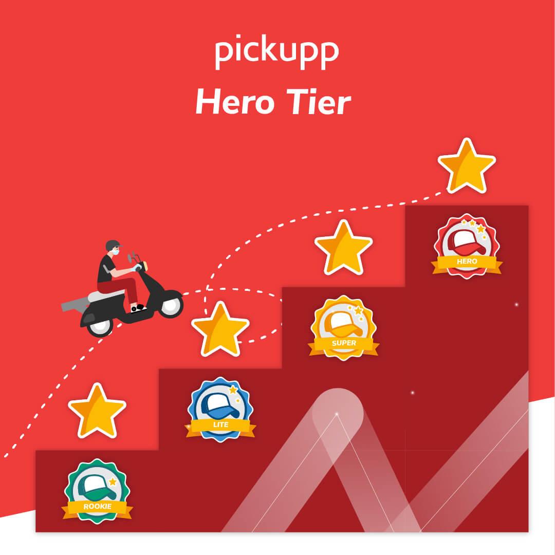 Pickupp Hero Tier