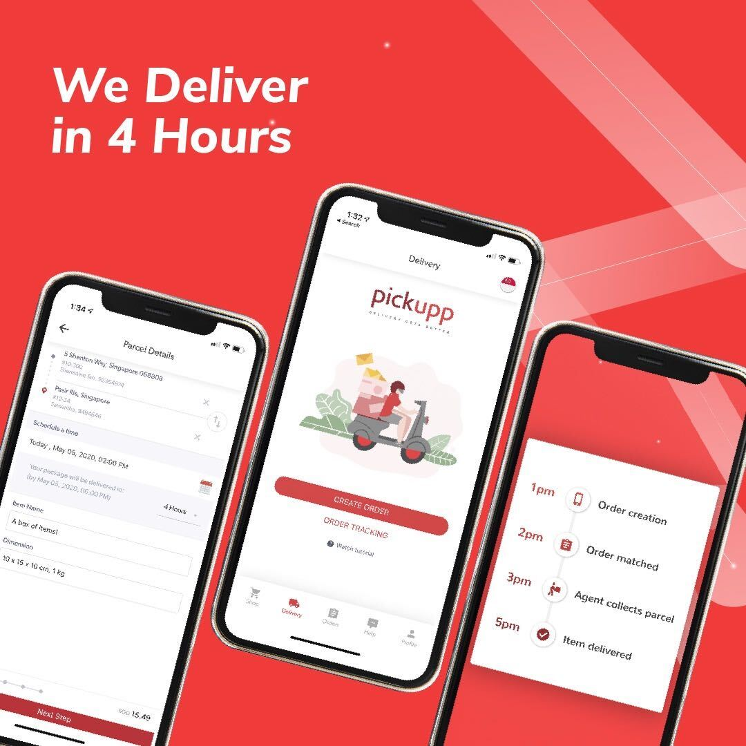 On-Demand Courier Service