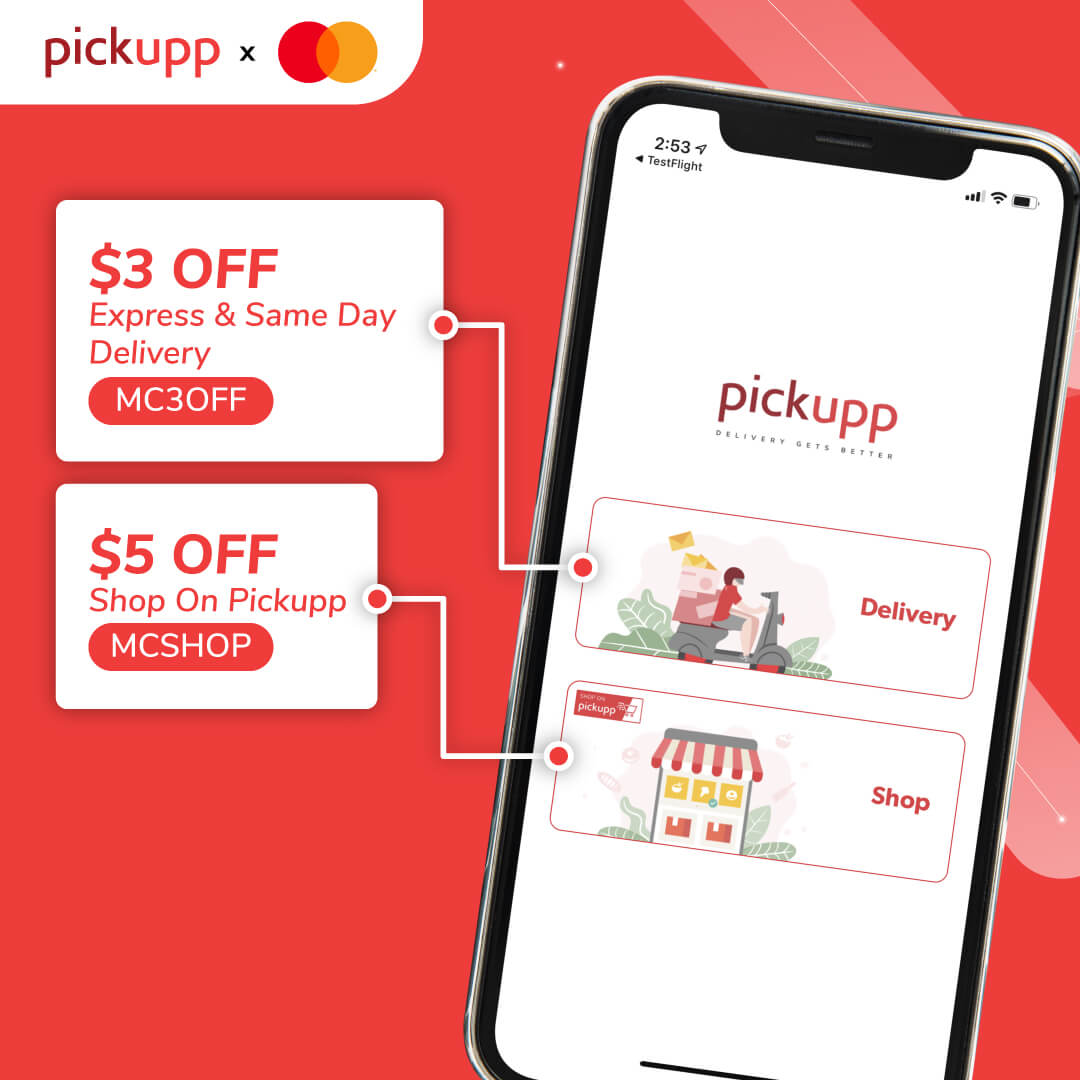 Mastercard & Pickupp Partnership
