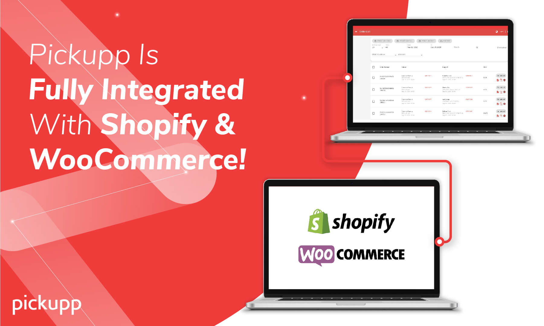 Shopify and Woocommerce Delivery Plugin