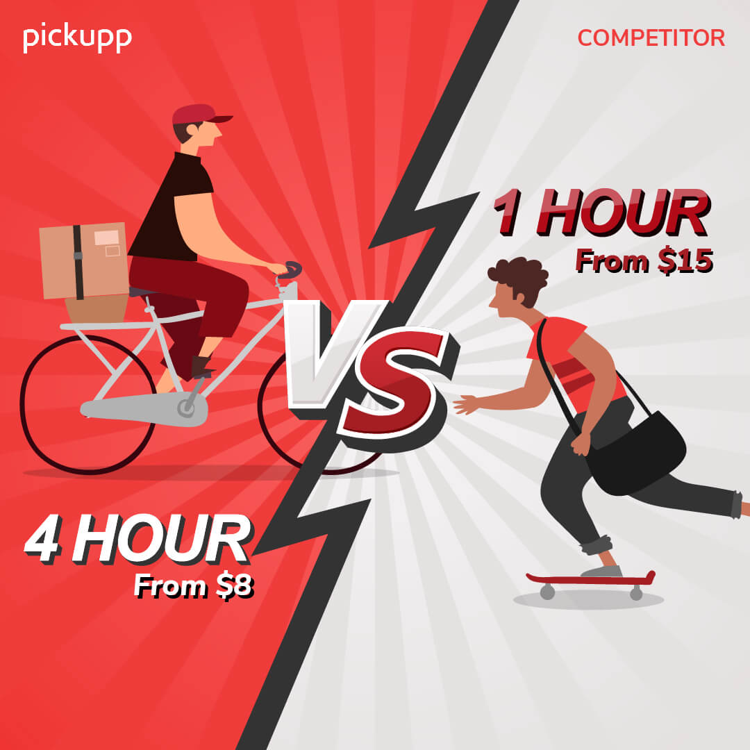 Pickupp's Same Day Delivery Services