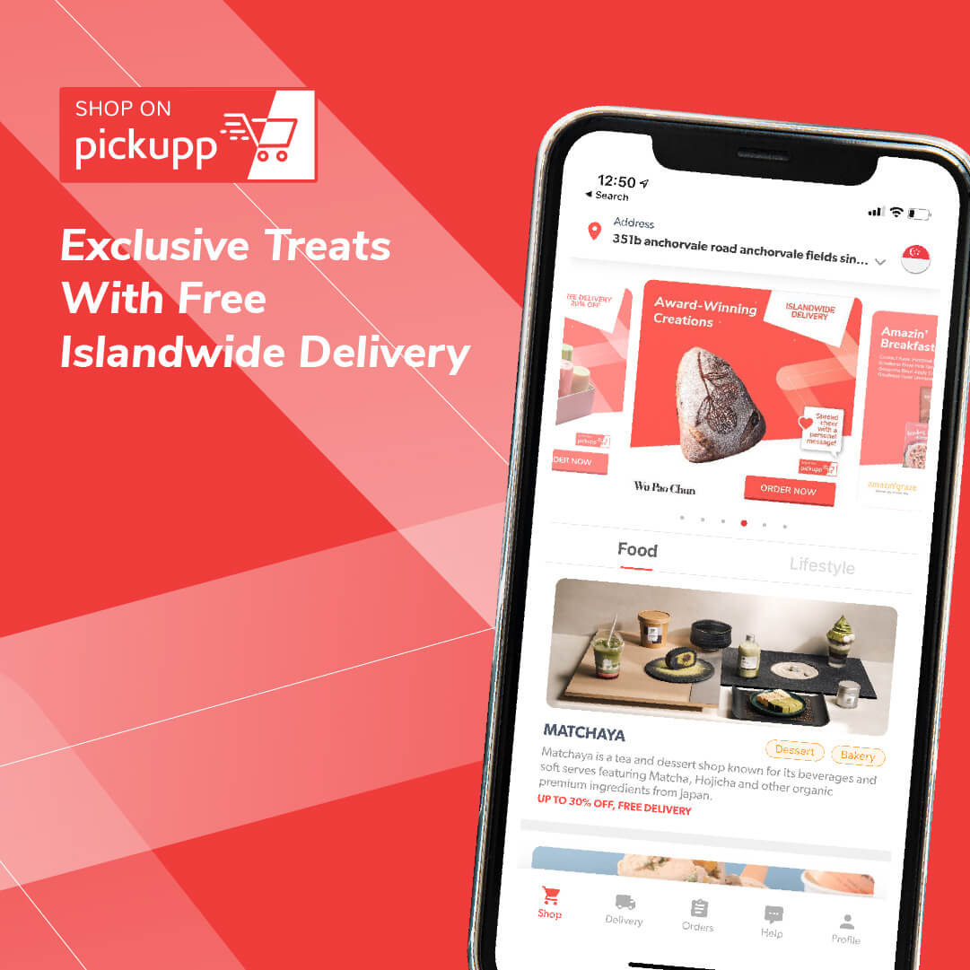 Exclusive Treats with Free Islandwide Delivery