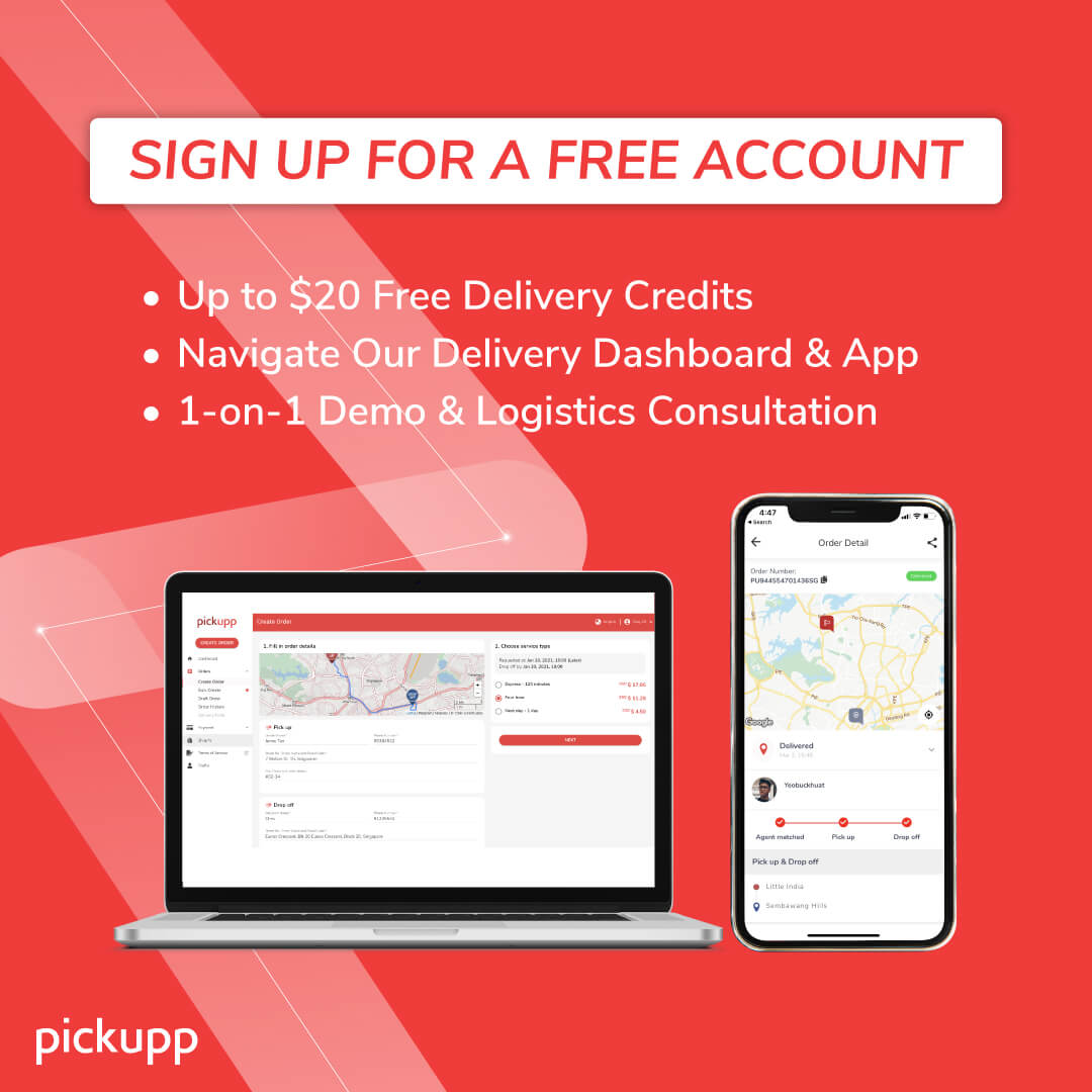 Affordable Delivery Service Singapore