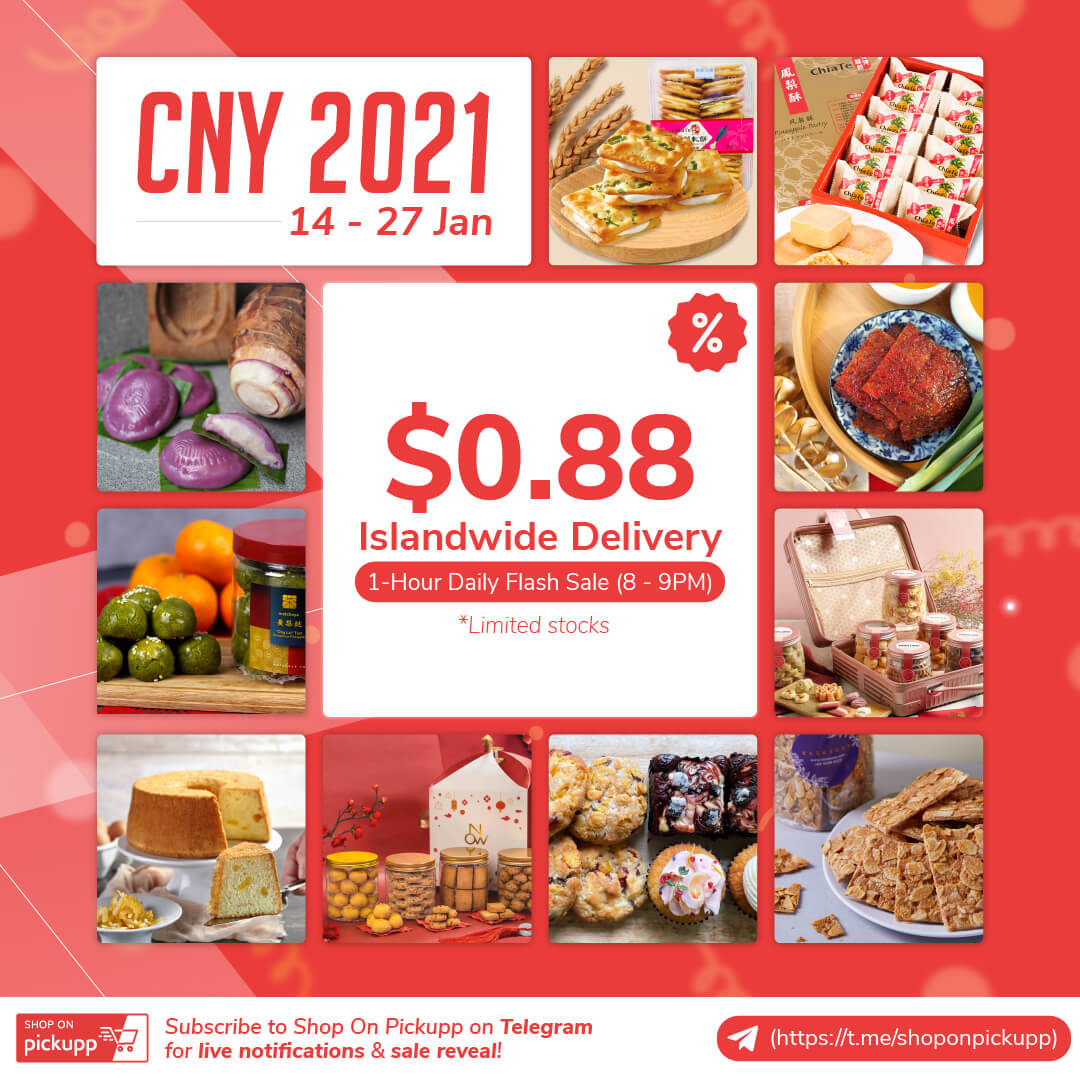 Chinese New Year 2021 Shop On Pickupp Sale