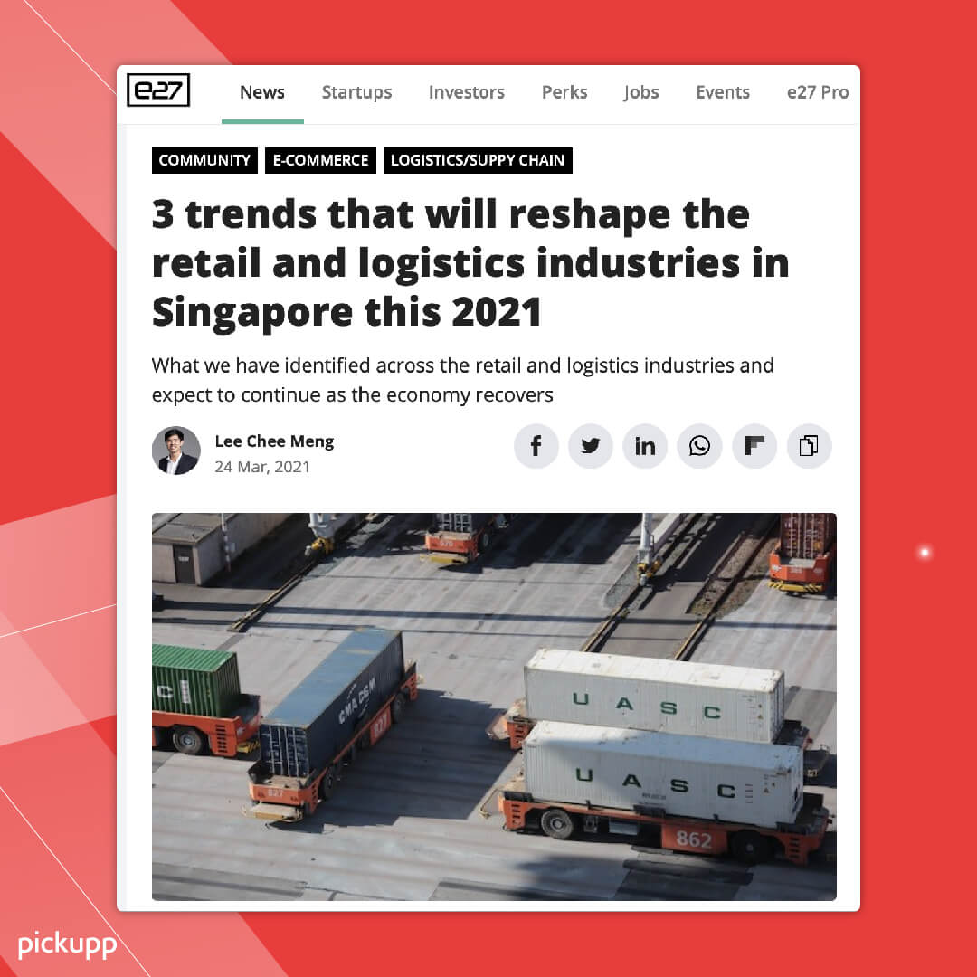 Retail and Logistics Trends 2021
