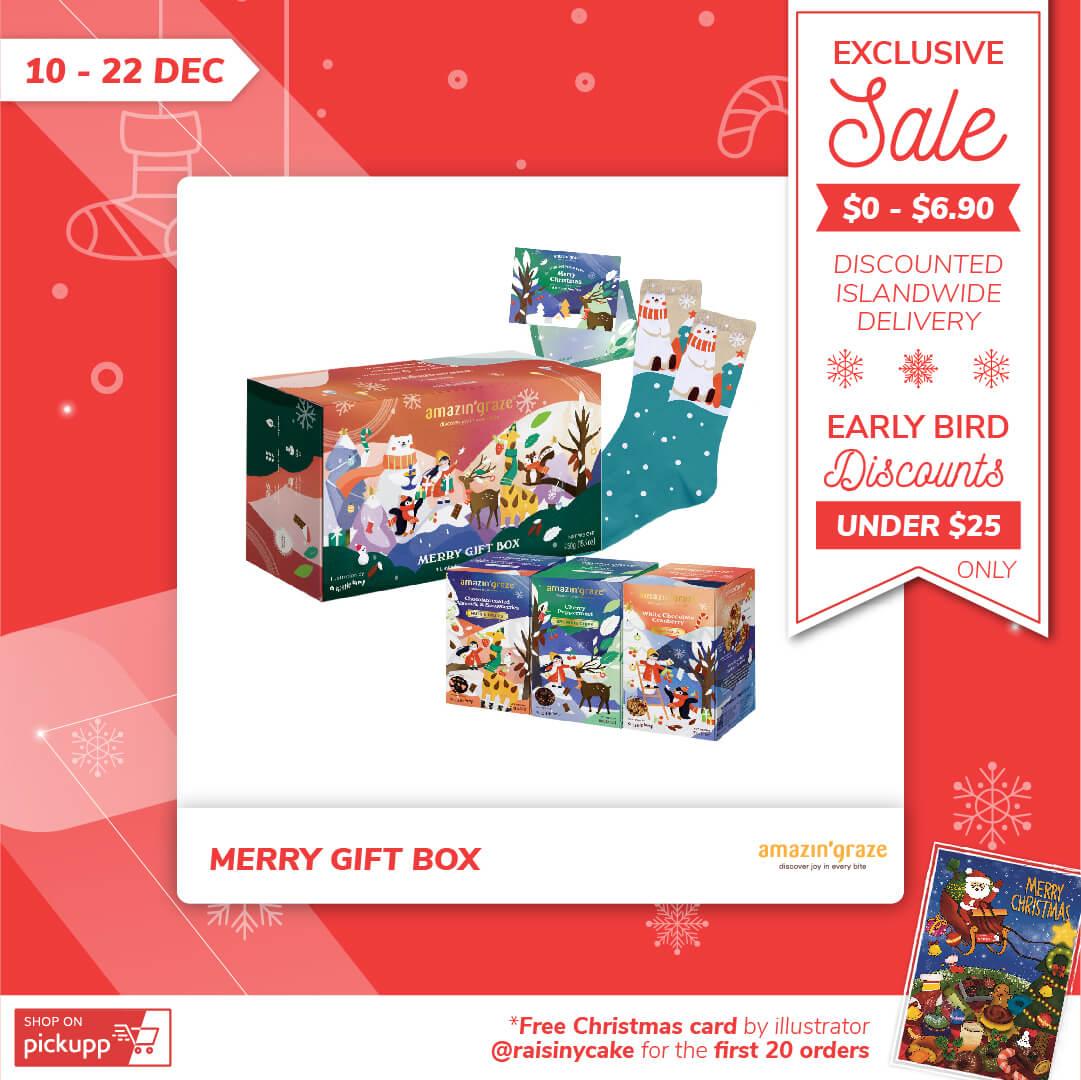 Amazin' Graze's Merry Gift Box