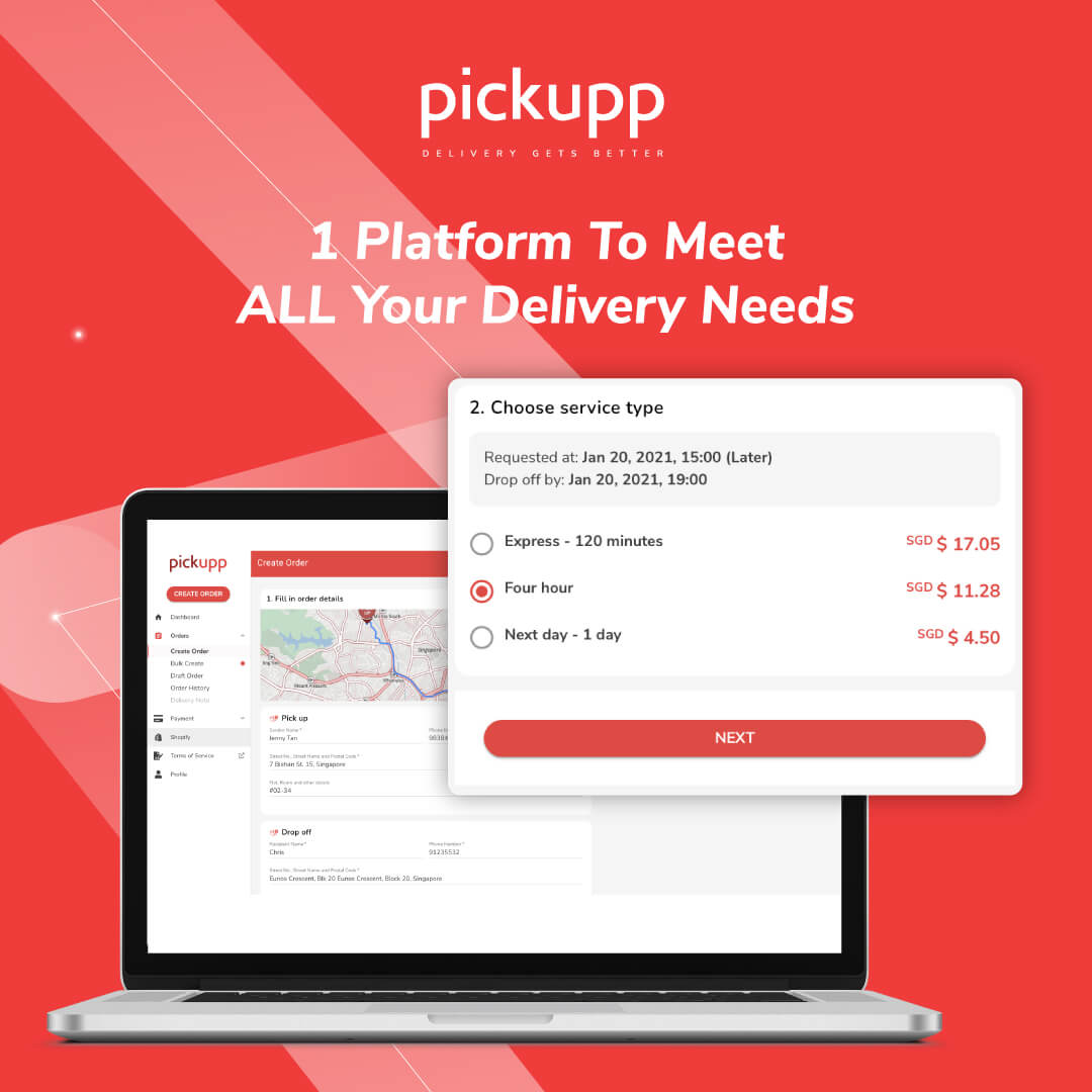 Delivery Services Singapore