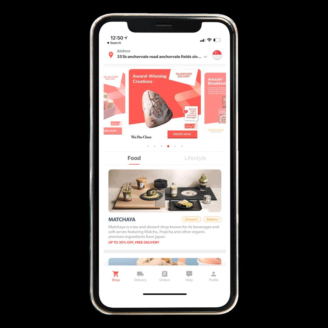 Download the Pickupp User mobile app