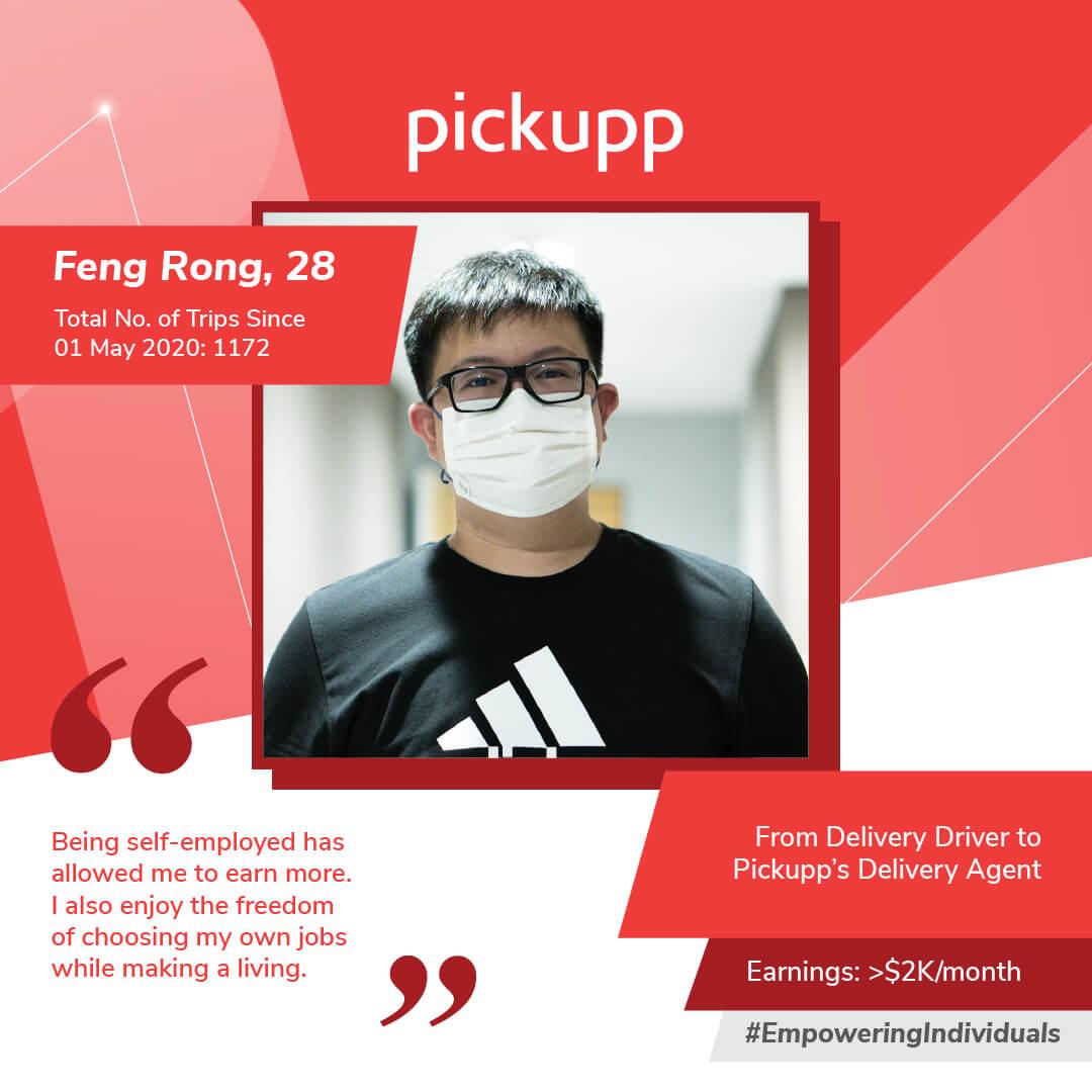 Pickupp Circuit Breaker Stories - Feng Rong