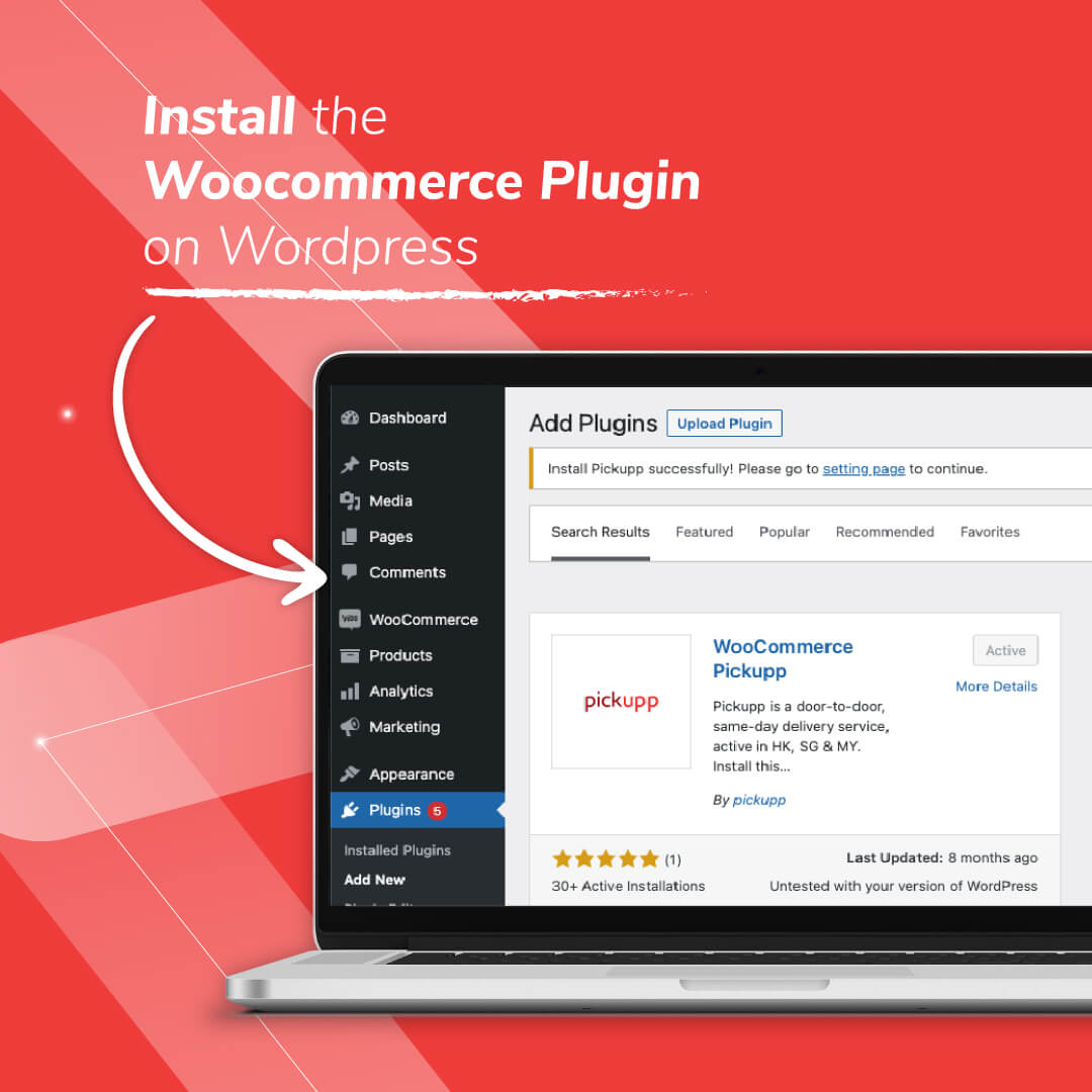Woocommerce Delivery App/Plugin