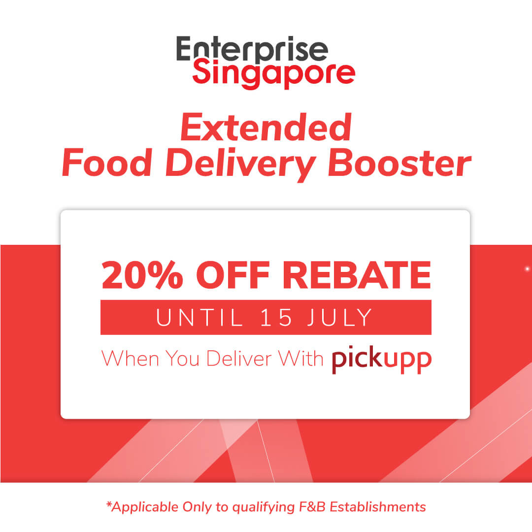 Pickupp's Food Delivery Booster Package