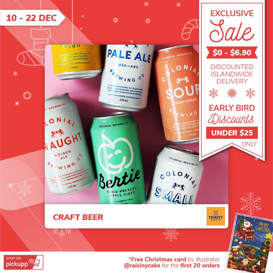 Craft Beer Christmas Sale